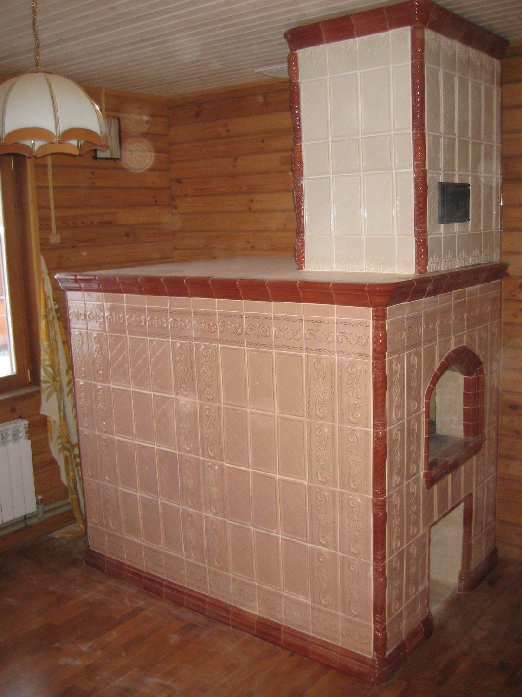 Русская печь с лежанкой-1